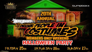 2019 Mike Busey's Drunk People In Costumes Halloween Party