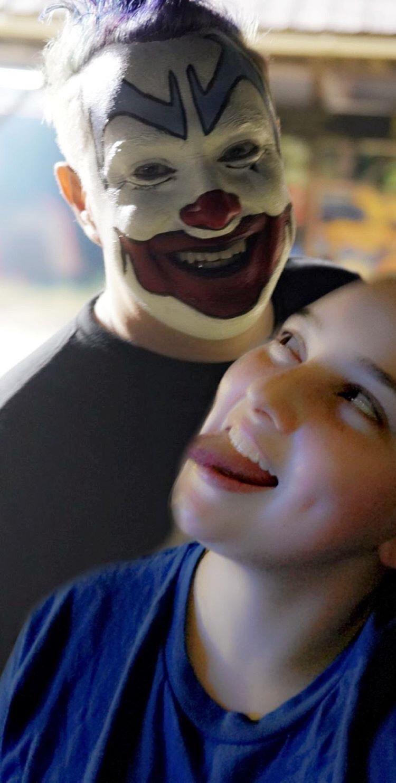 FlipFlop The Clown Fan Art & Foot Love by Madison Davis