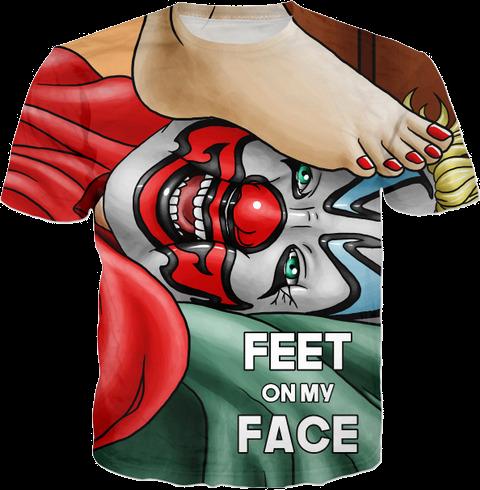Feet On My Face T-Shirt