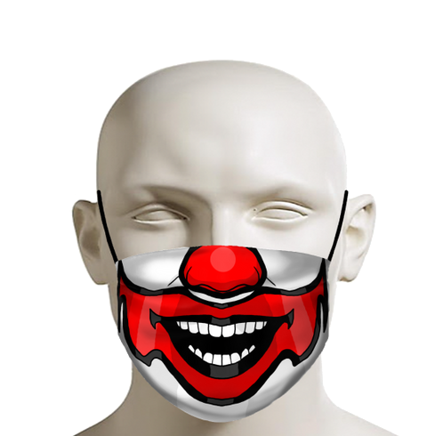 Clown Mouth Face Mask