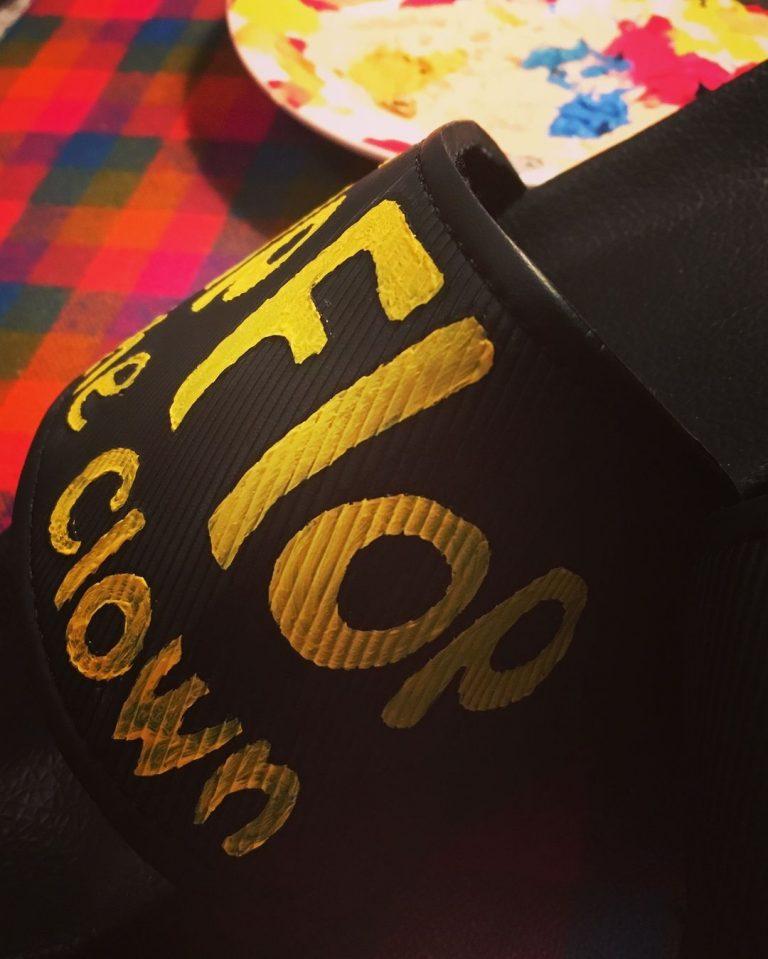 FlipFlop The Clown Fan Art & Gift by Caroline Pearson