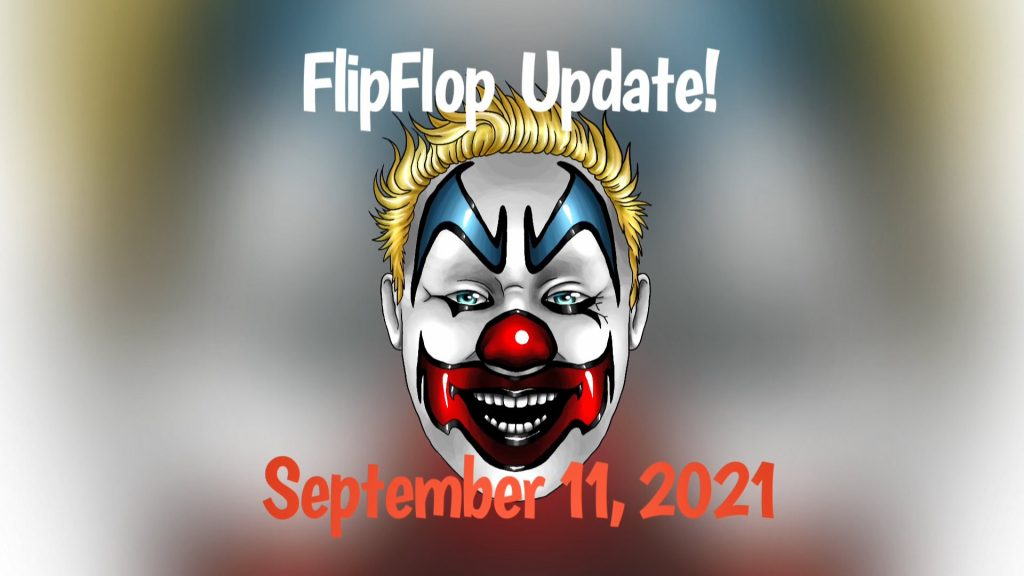FlipFlop The Clown keeps you up-to-date on what's been going on in his life and things to come.